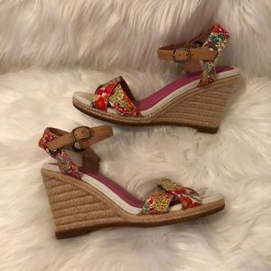 Sperry Topsider Wedges Size 7